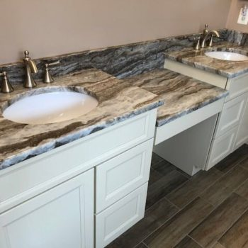 exotic granite vanity tops