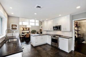 dark granite kitchen countertops