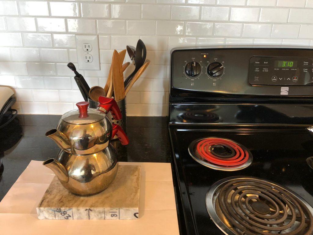 brown fantasy granite countertops heat test